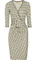 Giambattista Valli Wrapeffect Leopardprint Jersey Dress - Lyst