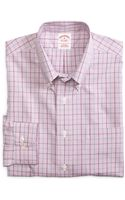 Brooks Brothers Noniron Regular Fit Gingham Sport Shirt - Lyst