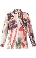 Burberry Prorsum Abstract Floral-print Shirt - Lyst