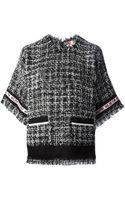MSGM Tweed Top - Lyst