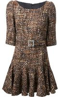 Dolce & Gabbana Collared Dress - Lyst