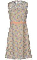 Moschino Cheap & Chic Short Dress - Lyst