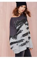 Nasty Gal Retrograde Sweater - Lyst