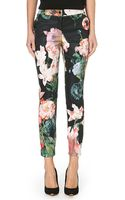 Ted Baker Opulent Bloom Trousers Black - Lyst