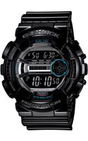 G-shock Mens Digital Black Resin Strap 51x55mm Gd1101 - Lyst