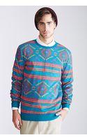 21men Southwestern Print Sweatshirt - Lyst