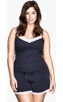 H&M Jersey Pyjamas - Lyst