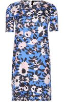 Marni Printed Silk Dress - Lyst