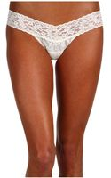 Hanky Panky I Do Low Rise Bridal Thong - Lyst