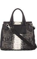 Givenchy Python Pandora Flap-front Shoulder Bag - Lyst