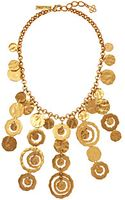 Oscar de la Renta Circle Necklace - Lyst