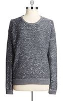 DKNY Sequin Pullover - Lyst