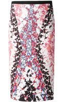 Peter Pilotto Pencil Skirt - Lyst