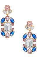 Kate Spade Gemstone Drop Earrings - Lyst