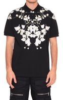 Givenchy Polo Shirt with Floral Print - Lyst