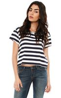Feel The Piece Tommy Striped Crop Top - Lyst
