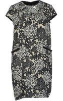 Twin-set Simona Barbieri Kneelength Dress - Lyst