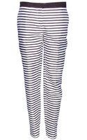 By Malene Birger Tilak Stripe Pants - Lyst