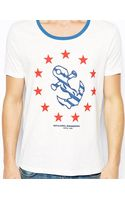 Asos Tshirt with Anchor and Star Print - Lyst