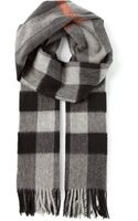Burberry London Nova Check Scarf - Lyst