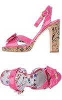 Kenzo Platform Sandals - Lyst