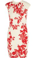 Tory Burch Lydia Floral-print Stretch-jersey Dress - Lyst