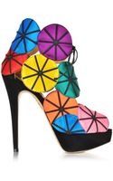 Charlotte Olympia Parasol Multicolour Platform Sandal - Lyst