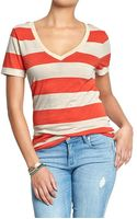 Old Navy V-neck Vintage Tees - Lyst
