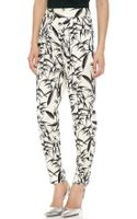 Alice + Olivia High Waisted Pants - Lyst
