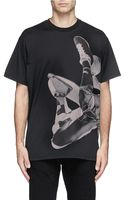Givenchy Basketball Player Print T-shirt - Lyst