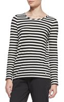 Marc By Marc Jacobs Pam Striped Longsleeve Tee - Lyst