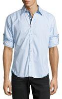 Robert Graham Fabio Tailored Fit Poplin Sport Shirt - Lyst