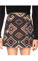 Pixie Market Tapestry Print A-line Skirt - Lyst