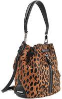Elizabeth And James Cynnie Leopard Bucket Bag - Lyst