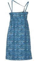 Versace Jeans Short Dress - Lyst