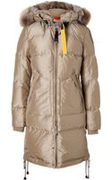 Parajumpers Long Bear Down Coat - Lyst