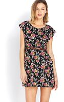 Forever 21 Garden Party Dress W Belt - Lyst