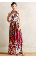 Anthropologie Lorna Silk Maxi Dress - Lyst