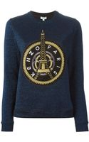 Kenzo Eiffel Tower Sweatshirt - Lyst