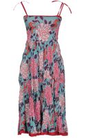 Lisa Corti Kneelength Dress - Lyst