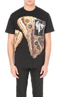 Givenchy Butterfly Graphic Cotton-jersey T-shirt - Lyst