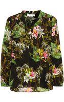 Etoile Isabel Marant Wescott Floral-print Cotton-gauze Blouse - Lyst