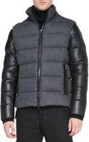 Michael Kors Flanneltech Puffer Jacket - Lyst