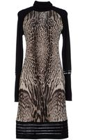 Roberto Cavalli Knee-length Dress - Lyst