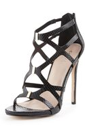 Carvela Kurt Geiger Jest Caged Heeled Sandals - Lyst