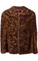 Comme Des Garçons Vintage Faux Fur Jacket - Lyst