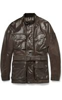 Belstaff Panther Waxedleather Jacket - Lyst