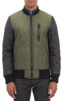 Christopher Raeburn Zigzag Quilted Bomber Jacket - Lyst