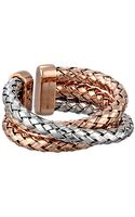 Roberto Coin Treccia Ring - Lyst