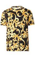 Versace Baroccoprint Tshirt - Lyst